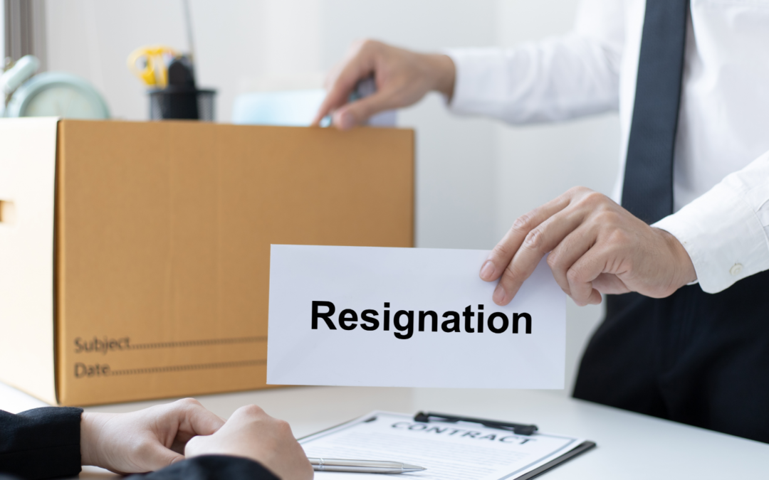 Are you part of The Great Resignation?